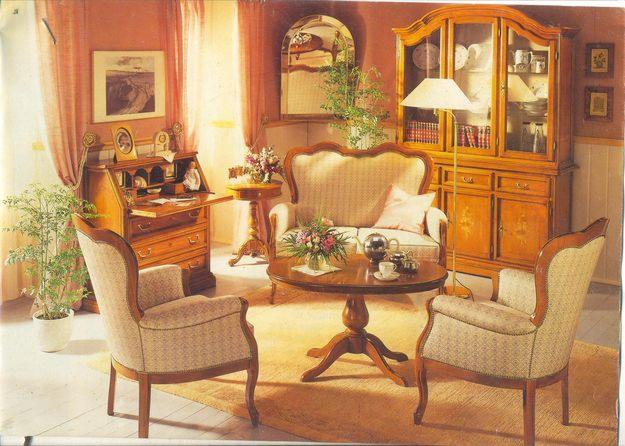 Living Room Wooden Furniture In